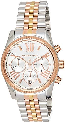 Michael Kors Orologio Cronografo Quarzo Donna con Cinturino in Acciaio Inox MK5735