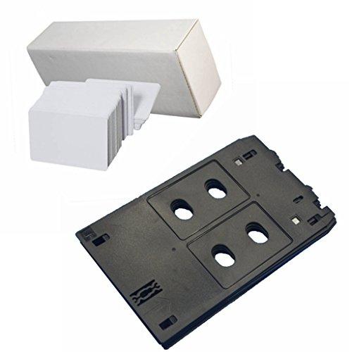 Schede in PVC per stampa a getto di inchiostro con vassoio per stampanti Canon J PIXMA MX922,...