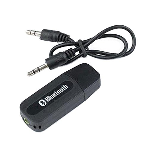 AVMART USB Wireless Bluetooth AUX Music Audio Stereo Receiver Adapter Dongle for Speakers Car Stereo Home Cinema Speaker Headphone HiFi Dock