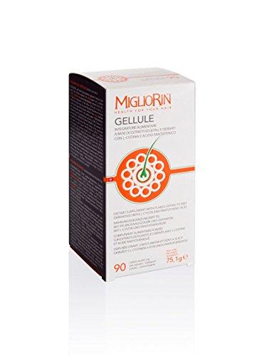 Migliorin 90 Gellule Da 835 Mg Integratore Alimentare Per Rinforzare Capelli E Unghie
