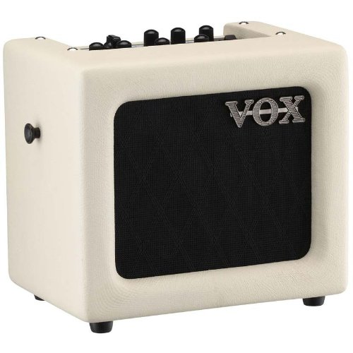 VOX Mini3 Modeling Guitar Amp (White)
