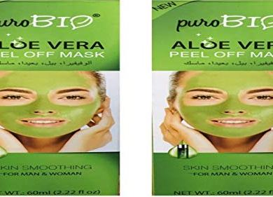 Wonder Star Present Puro Bio Aloe Vera Peel Off Mask (2 Pcs Combo) 19