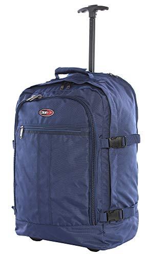 CABIN GO cod. MAX 5520 trolley - Zaino bagaglio a mano/cabina da viaggio leggero. - 55 x 40 x 20 cm,...