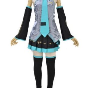 VOCALOID: Miku Hatsune - Cosplay Costume (Ladies M) (japan import)