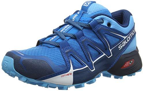 Salomon Speedcross Vario 2 W, Zapatillas de Running para Asfalto para Mujer, Azul Hawaiian Surf/Aquarius/Mykonos Blue, 42 EU