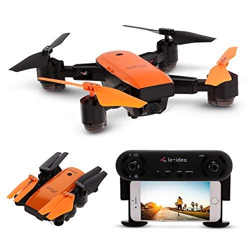 Goolsky IDEA7 RC Drone 720P Telecamera grandangolare Wifi FPV GPS Droni Altitudine Tenere pieghevole...