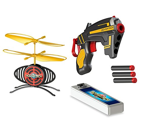 MEDIA WAVE store Hover Tech Target FX Drone Volante 156595 Giochi PREZIOSI con Pistola e 3 dardi