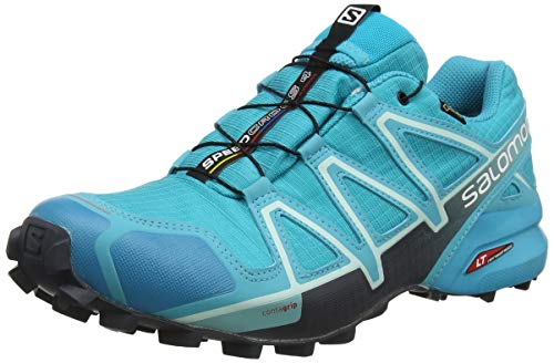 Salomon Speedcross 4 GTX Scarpe da Trail Running Impermeabili Donna, Azzurro (Bluebird/Icy...