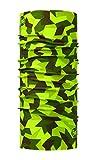 Buff Block Camo Original Tubular, Unisex Adulto, Verde, Talla Única