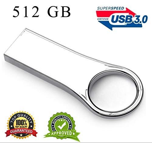 Chiavetta USB 512 3.0 flash drive high speed 300 Mb/s Hard Disk esterno Ultra slim Ottima Qualità
