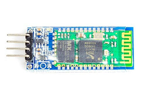 Modulo ricetrasmettitore Bluetooth RF HC-05 RS232 per Wireless Serial Arduino Multiwii F. Arduino Raspberry Pi Un modulo Bluetooth. Consente di sostituire la connessione RS232 cablata con radio. Ideale per Multiwii per configurare il tuo aere...