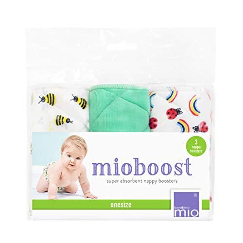 Bambino Mio, Mioboost (Inserto Assorbente Pannolino), Confezione da 3, Alveare