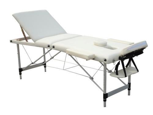 D&S Vertrieb Massageliege - Aluminium 3 Zonen