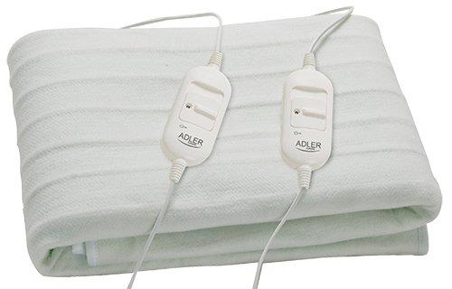 Adler AD 7410 Coperta elettrica 60W Bianco