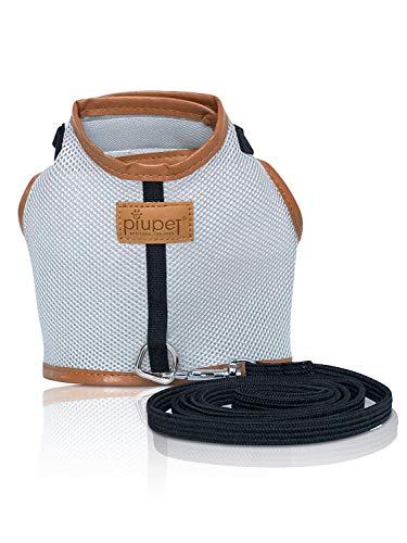 PiuPet - Premium Arnes para Gato Collar Seguro y Robusto (S)
