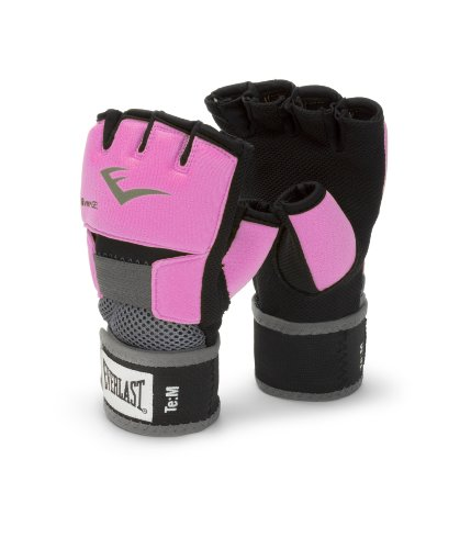 Everlast 4355P - Ever-Gel Glove Wraps, Guanti senza dita, Rosa, M
