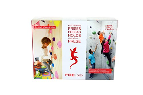 Fixe Play Kit para Escalada, Niños, Multicolor, Talla Única