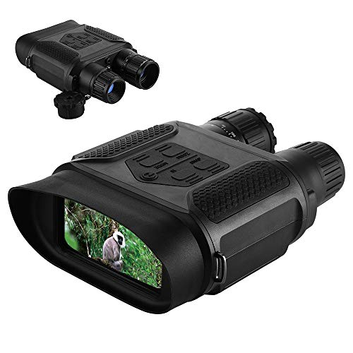 Lixada Binocolo Digitale per Visione Diurna/Notturna 7X31mm con Ampio LCD TFT da 4'' e Funzione...