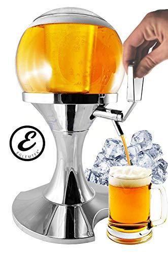 EGLEMTEK Spillatore Distributore Dispenser Birra E Bevande Refrigerate A Forma di Bolla Sferico con...