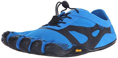 Vibram FiveFingers 16M0701 KSO Evo, Fitnessschuhe Herren, Blau (Blue/Black), 42 EU
