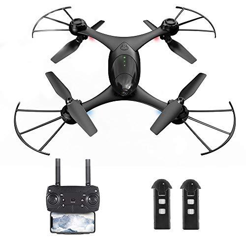 Goolsky KFPLAN KF600 Drone con Fotocamera 720P WiFi FPV Flusso Ottico Posizionamento del Gesto...