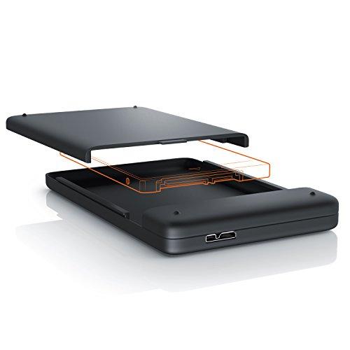 aplic - Case HD da 2,5' (6,4cm) SATA Super Speed (Esterno) USB 3.0   2,5' SATA USB 3.0 Hard Drive...