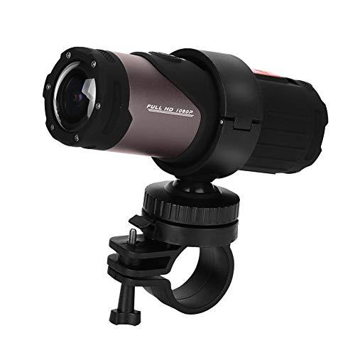 Richer-R HD 1080 P Mini Sport DV Kamera, 12MP 10M Wasserdicht Fahrrad Motorrad Helm Kamera,Wifi Mini Sport Kamera Helm Fahrradhelm Digital Videokamera für Outdoor-Sportarten Schwarz