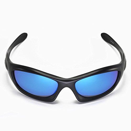 sunglasses restorer Gafas de Sol Modelo Adeje - para Hombre y Mujer - Gafas Ideales para práctica Deportiva - Ciclismo - Esquí - Lente Polarizada Color Ice Blue