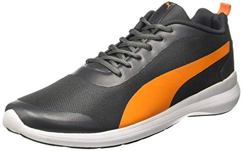 Puma Men's Lazer Evo IDP Asphalt-Orange Popsicle Sneakers-11 UK/India (46 EU) (4060981882428)