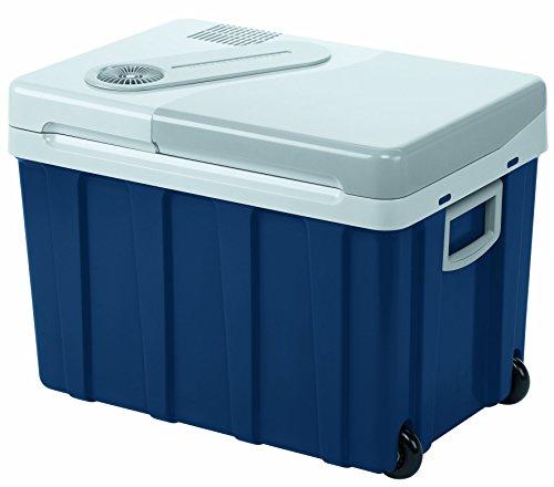 Mobicool W40, thermo-elektrische Kühlbox mit Rollen, 39 Liter, 12/24 V und 230 V für Auto, Lkw,...