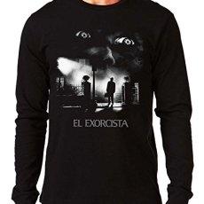 35mm – Camiseta Manga Larga El Exorcista-The Exorcist Terror Movie, Hombre