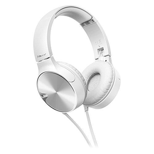 Pioneer SE-MJ722T-W - Auriculares, Color Blanco