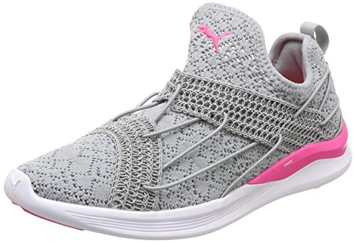 Puma Women s Ignite Flash Sensua Wn s Quarry-Knockout Pink Running Shoes-6  UK ae30a8a35e