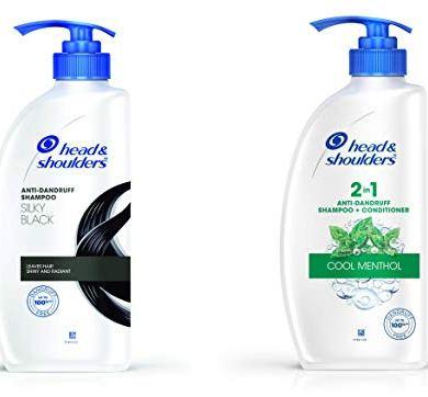 Head & Shoulders Silky Black Shampoo 10