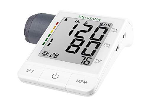 Medisana BU 530 Misuratore della Pressione Sanguigna da Braccio con Applicazione,con Indicatore...