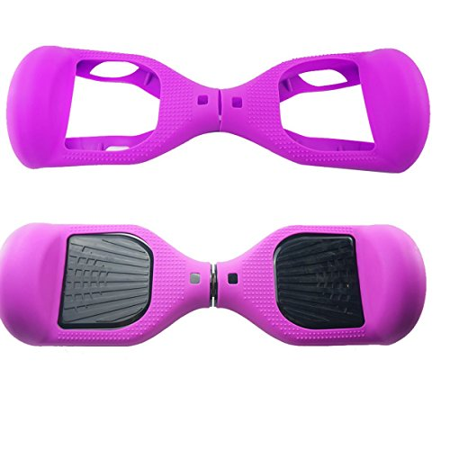 WheelElite, protezione in silicone antigraffio per un monopattino e hoverboard di 16,5 cm a due...
