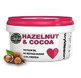 Hazelnut & Cocoa Nut Butter (500g) No Palm Oil, No Added Sugar, Dairy Free, Vegan, Chocolate Spread, Great Taste Award 2018