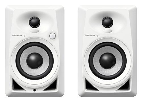 Pioneer DM-40-W Blanco Altavoz - Altavoces (De 2 vías, 2.0 Canales, Alámbrico, RCA / 3.5mm, 4 Ω, Blanco)