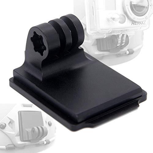 SHI-Y-M-GJ, Paintball Tattici Alluminio bloccate Adattatore portacasco Night Vision Goggle NVG Mount Base for GoPro HD Hero GoPro