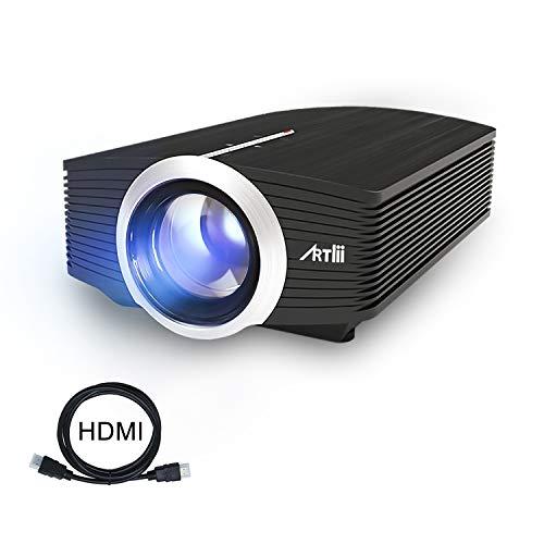 Proiettore Portatile, Artlii Mini Videoproiettore TV Supporto 1080P per Intrattenimento Domestico,...