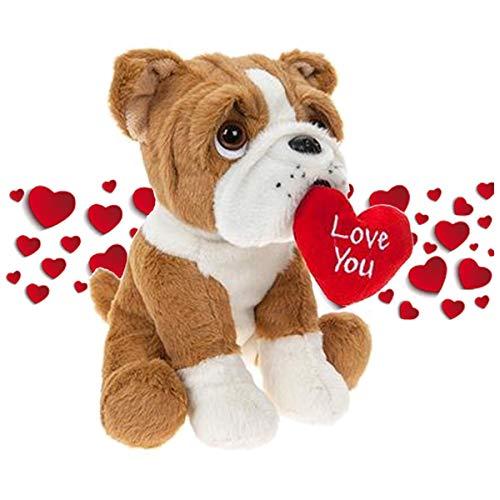 Valentine Gift Plush Cuddly Teddy Bear Puppy