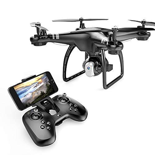 FLYTR Drone con Telecamera 720P HD Camera WiFi FPV Hover Drone Camera Regolabile...