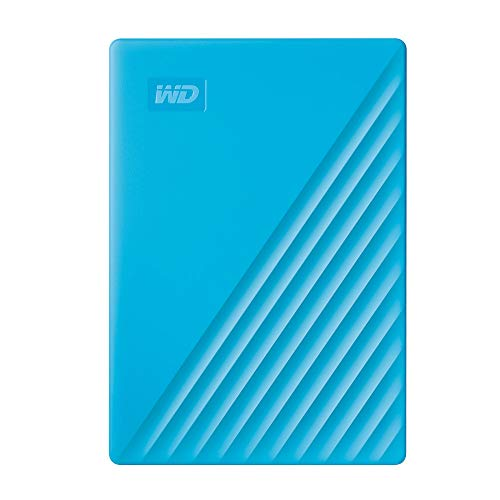 Western Digital 4TB My Passport, Hard Disk Portatile con Protezione Tramite Password e Software di...