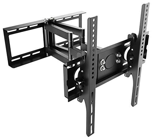 RICOO Supporto da parete per TV Montaggio R28 Staffa per televisore piatto inclinabile girevole...