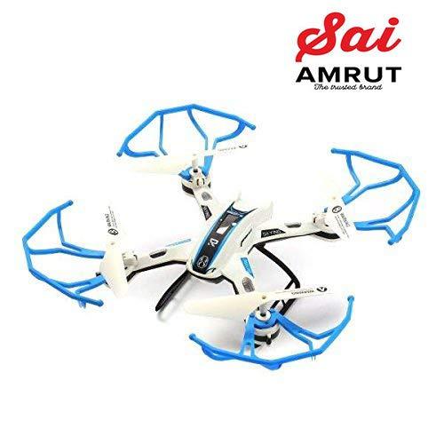 Sai Amrut Sky Phantom King Drone Quadcopter for Kids/ Childern - No Camera - Mixed Colours (Blue)