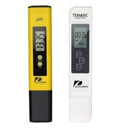 Pancellent Tester qualità Acqua TDS PH EC Temperatura 4 in 1 Set
