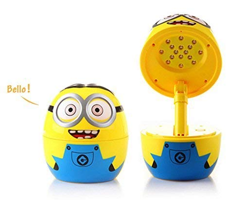 Far Vision Attractive Minions Rechargeable LED Study/Table Lamp with Decorative Night Lamp for Students, Children Gift. ON Sale Now!