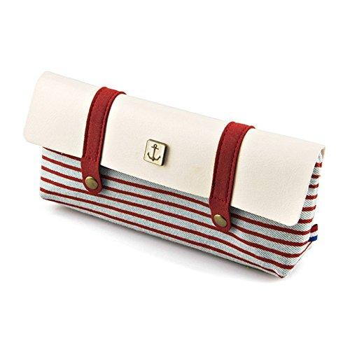 Astuccio per matite in tela, Tukistore Borsa vintage per borsa da donna, borsa da viaggio, borsa da...