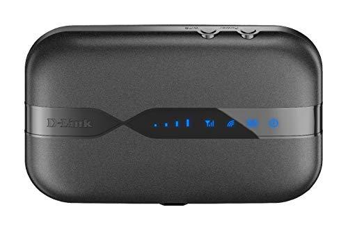 D-Link DWR-932 Pocket Hotspot 3G/4G LTE via SIM , Inclusa Batteria Ricaricabile da 2020 mAh, Wi-Fi...