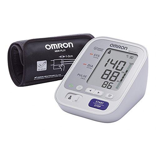 OMRON M3 Comfort Misuratore di Pressione da Braccio Digitale con Tecnologia Intelli Wrap Cuff per...